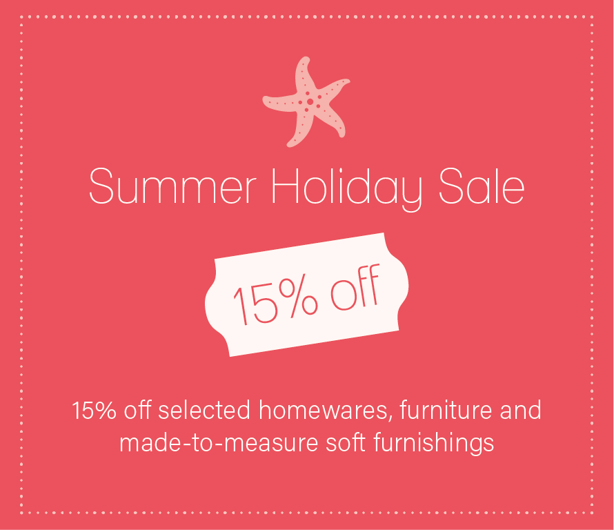 Our Summer Holiday Sale is now on
