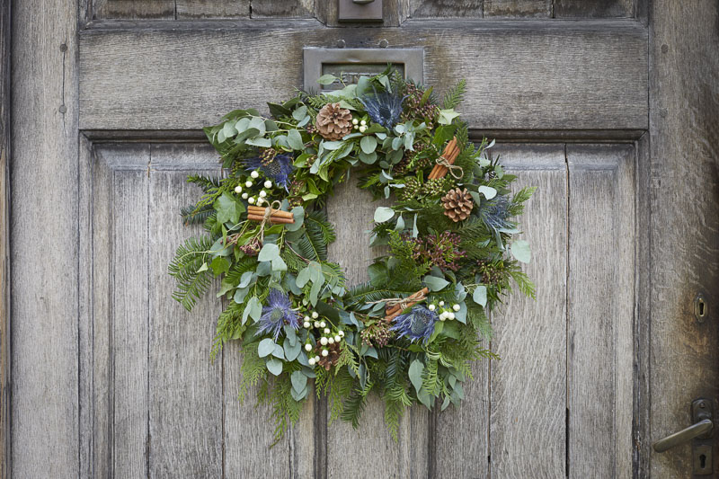 This year, why not make your own Christmas wreath?