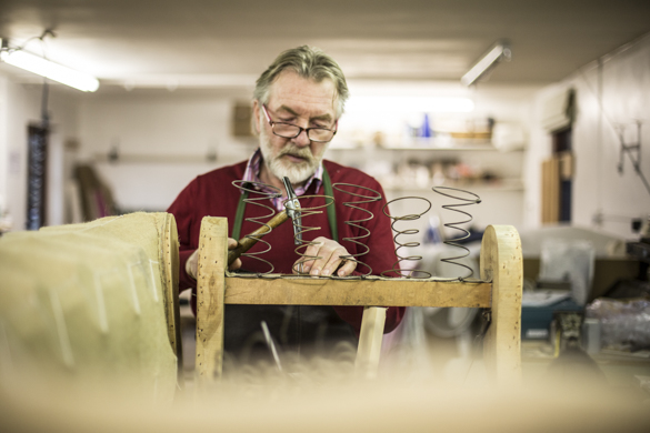 Meet Robert, our upholsterer